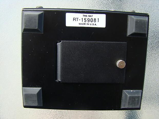 RAT PEDAL PROCO VINTAGE LM308N CHIP MOTOROLA LARGE BOX RT SERIAL NUMBER USA  MADE 90S
