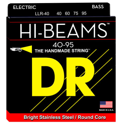 DR Strings LLR-40 40-95 4str Hi-Beam Bass Strings