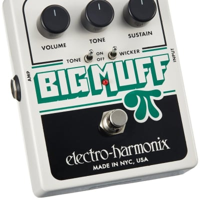 Electro Harmonix Big Muff Pi with Tone Wicker Fuzz for sale