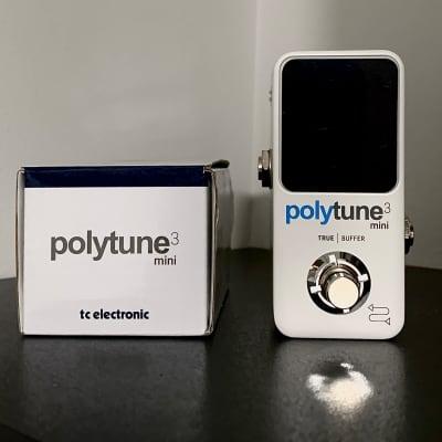 TC Electronic Polytune 3 Mini Polyphonic Tuning Pedal