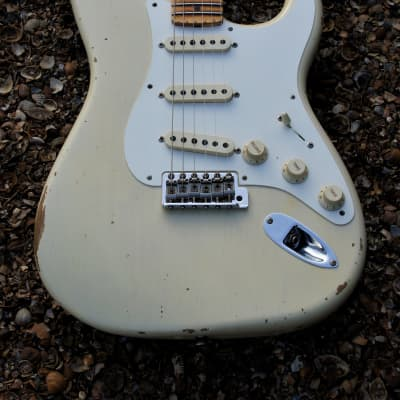 Fender Custom Shop '56 Stratocaster Relic - Vintage Blonde for sale