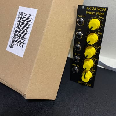 New in Box! Doepfer A-124 VCF5 Wasp Filter Special Edition Eurorack