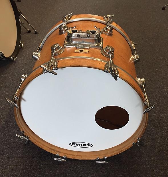 Vintage 1970 S Camco 14x18 Bass Drum Chanute Era Sound Reverb