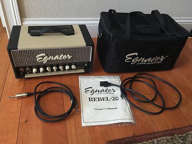 Egnater Rebel 20 Head and 112 Guitar Speaker Cabinet   Reverb