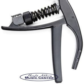 Planet Waves NS Artist Guitar Capo for 6-String Electric & Acoustic Guitars, Black for sale