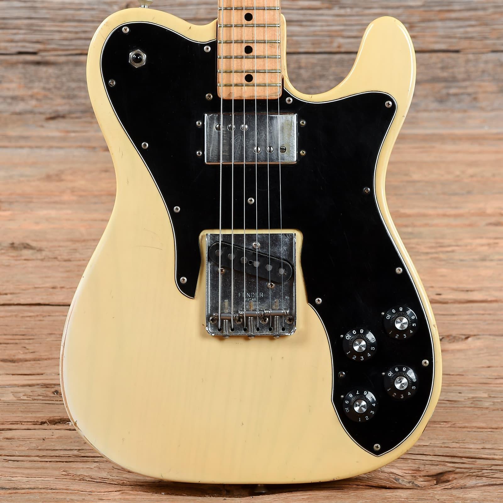 Fender Telecaster Custom Blonde 1973 (s872)