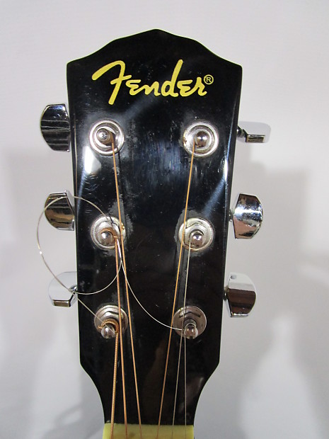 fender dg 11e acoustic electric guitar black reverb. Black Bedroom Furniture Sets. Home Design Ideas