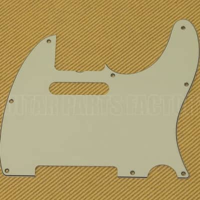 005-6077-000 Genuine Fender '62 Custom Telecaster/Tele 3-ply Mint Pickguard