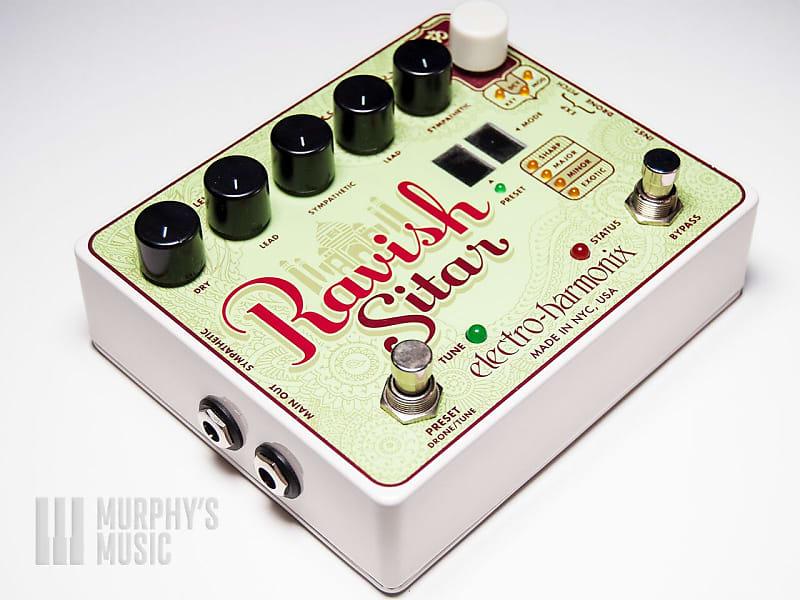 electro harmonix ravish sitar synth guitar effect pedal reverb. Black Bedroom Furniture Sets. Home Design Ideas