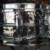 Ludwig 5x14 Supraphonic Hammered Aluminum Snare Drum 2010s image