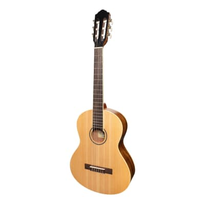 Martinez 'Slim Jim' 3/4 Size Student Classical Guitar with Built In Tuner (Spruce/Rosewood) for sale