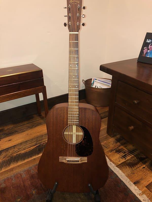 martin d15 m 2014 solid mahogany dreadnought guitar reverb. Black Bedroom Furniture Sets. Home Design Ideas