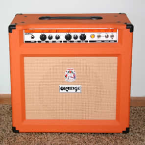 Orange TH30C 30-Watt 1x12 Twin Channel Guitar Combo Amp, Orange Tolex