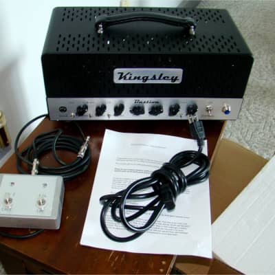 2015: Kingsley Bastion 40 Tube Amp Head from Superior Music! for sale