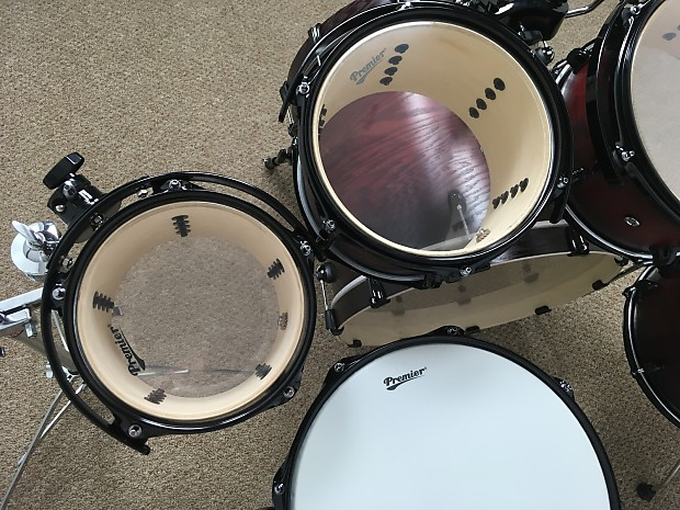 premier drums xpk series 7 piece shell pack kit cherry burst reverb. Black Bedroom Furniture Sets. Home Design Ideas