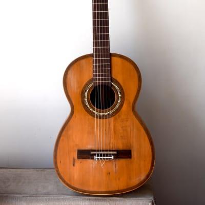 Flamenco guitar, attributed to Telesforo Julve, Valencia, circa 1900/1930 for sale