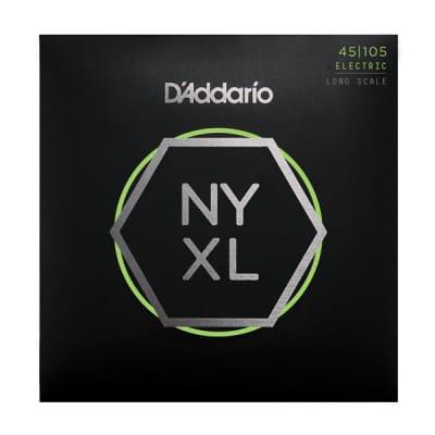 D'Addario NYXL45105 Bass Guitar Strings Long Scale 45-105