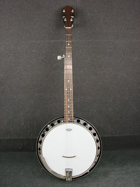 Vintage OME Single X Banjo w/ Case   GravityMusicGear