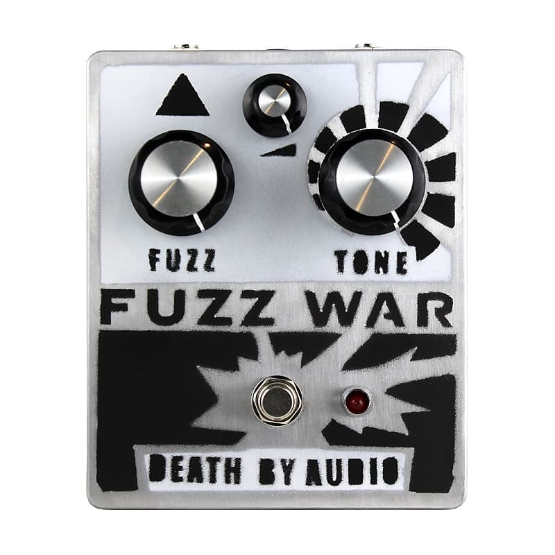 Death By Audio DBA Fuzz War Effects Pedal