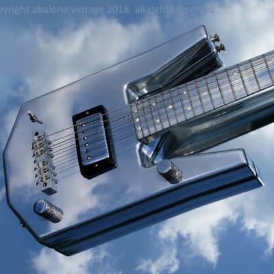 1976 Veleno Traveler guitar. Aluminum hollow instrument designed for BB King. R.A.R.E! for sale