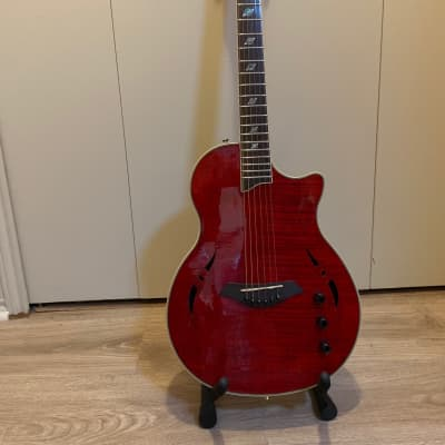 Giannini Nashlyn-A Steel String Electric Guitar 2010's Red for sale