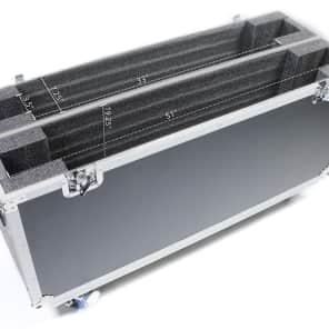 """OSP ATA-LED-55X2 Adjustable ATA Case for 2x 55"""" LED Screens"""