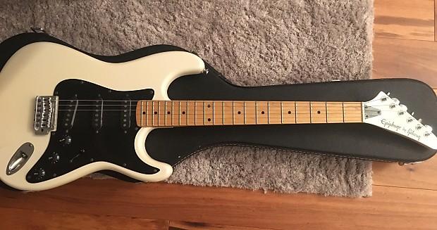 vintage epiphone by gibson s310 stratocaster electric guitar reverb. Black Bedroom Furniture Sets. Home Design Ideas