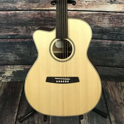 Kremona Left Handed M25E Acoustic Electric Steel String Guitar for sale