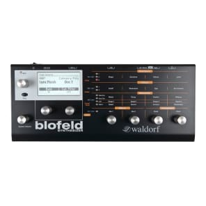 Waldorf Blofeld Desktop Digital Synthesizer Black Shadow Limited Edition