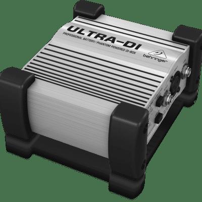 Behringer DI100 Ultra-DI 1-Channel Active Microphone/Instrument Direct Box w/ Demo Video