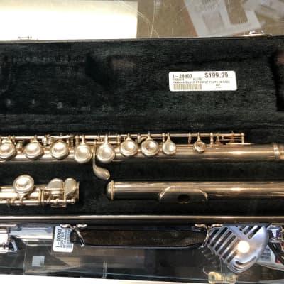 Yamaha 221 Silver Plated Flute