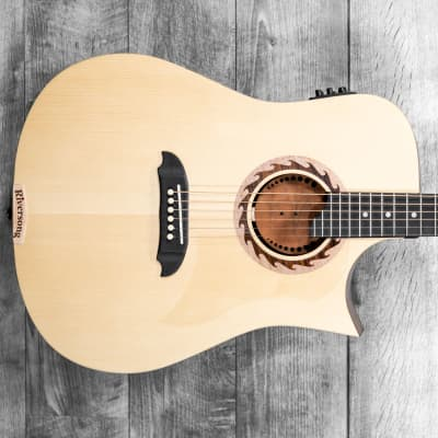 Riversong Tradition 3 Performer Series Cutaway Electric Acoustic w/Poly Case for sale