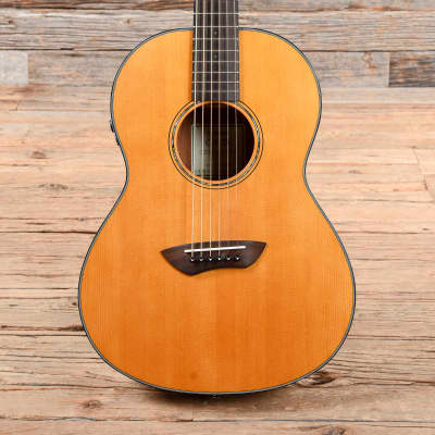Yamaha CSF TransAcoustic Parlor Acoustic Guitar USED