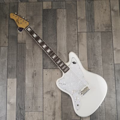 Revelation RJT 60 'Ghost' Left Handed Electric Guitar, Arctic White for sale