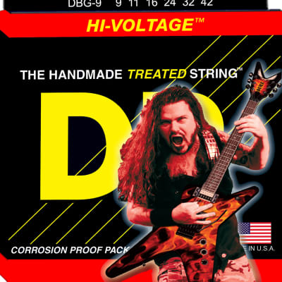 DR Strings DBG-9 Dimebag Darrell Electric Strings - 9-42 for sale