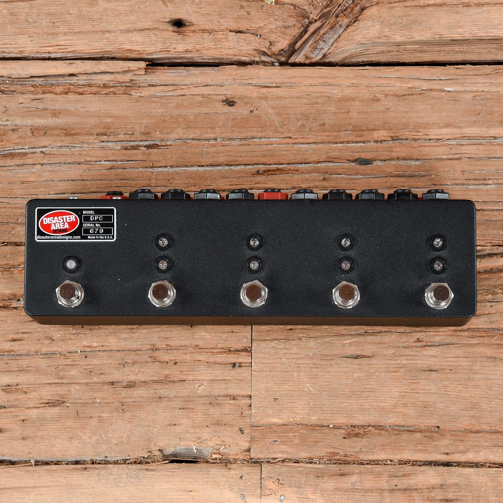 Disaster Area DPC-5 MIDI Pedalboard Controller & Loop Switcher USED