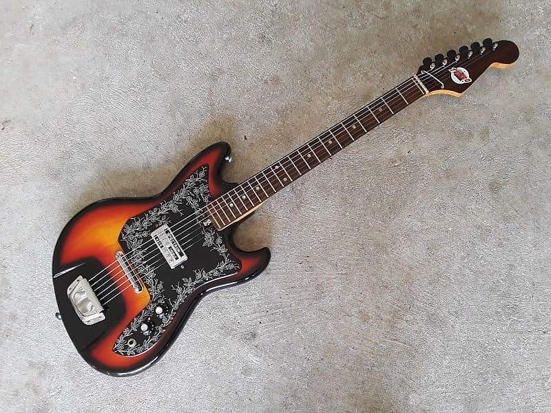 60 39 s teisco del rey spectrum electric guitar reverb. Black Bedroom Furniture Sets. Home Design Ideas