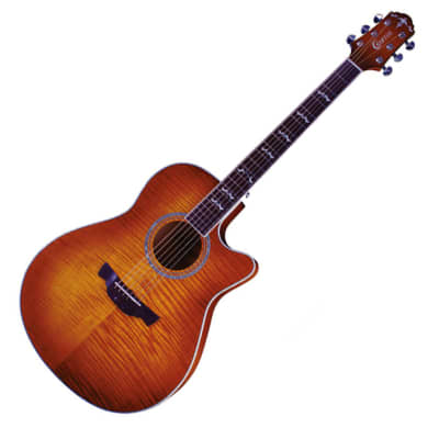 Crafter Noble Small Jumbo Flame Maple Vintage Gloss 25.5