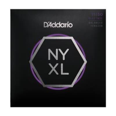 D'Addario NYXL1150BT Nickel Wound Electric Guitar Strings, Balanced Tension Medium, 11-50