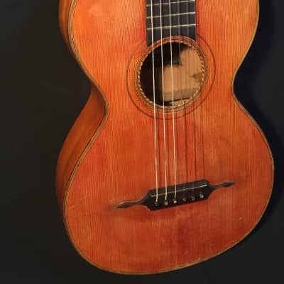 1905 Small Body Parlour Guitar – Austrian / German Origin – Beautiful Mellow Tone, Great Volume for sale