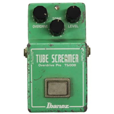 Ibanez TS-808 Tube Screamer Overdrive Pro - 1981