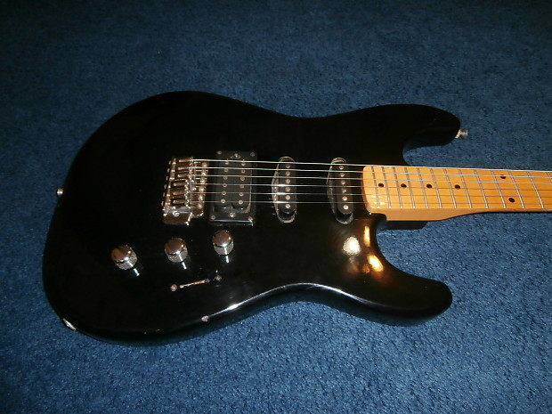 vintage 1980 39 s fender squier ii hss stratocaster electric reverb. Black Bedroom Furniture Sets. Home Design Ideas