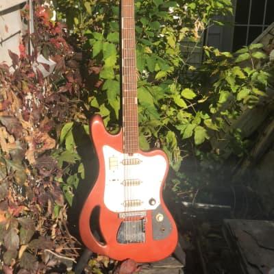 "Teisco TB-64 1960s Original ""copper"" for sale"