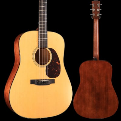 Martin D-18E (LR Baggs Electronics) Standard Series (Case Included) S/N 2280430 4lbs 6.6oz - Demo for sale