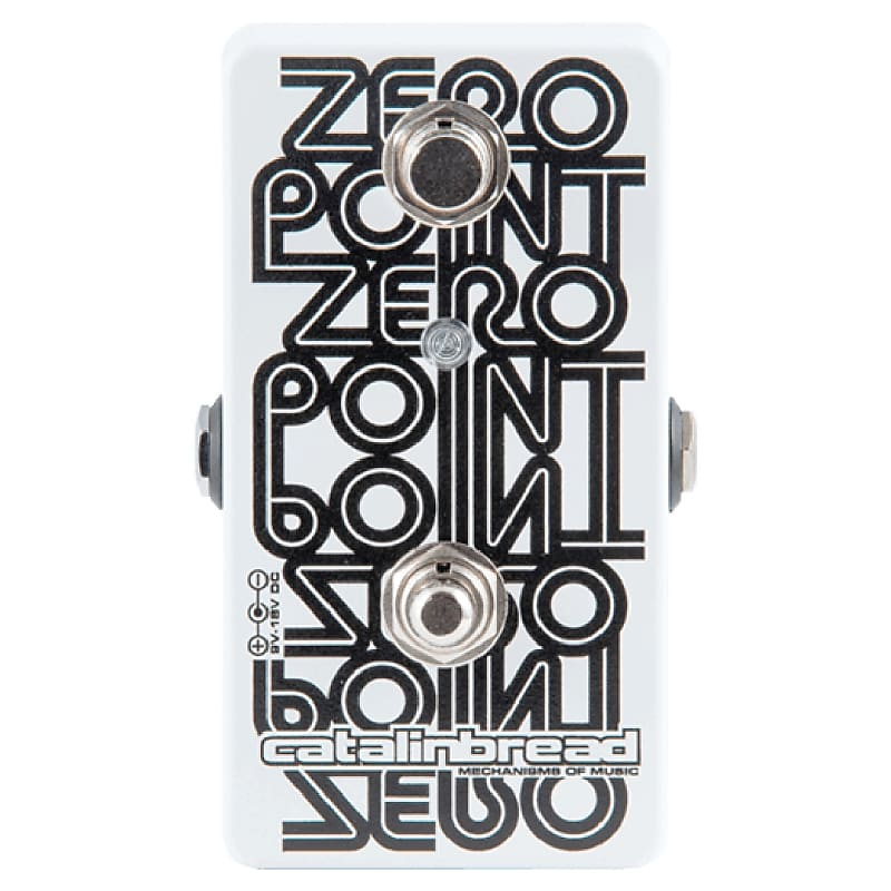 Catalinbread Zero Point Manual Studio Tape Flanger Effects Pedal