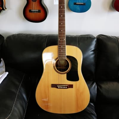 Washburn HD10S Heritage 10 Series Dreadnought Natural for sale