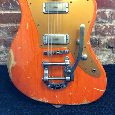 Fano JM6 with Bigsby and Lollar Firebird pickups