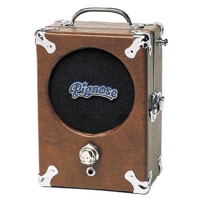 "Pignose Legendary Battery Powered Amp Guitar Harp Practice Record 5"" Speaker Free Shipping"