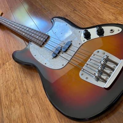 Scarce 1990's Fender Japan Three Tone Sunburst Bass CIJ S-Serial 1997-2000 for sale
