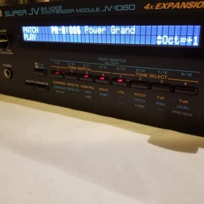 JV 1080  With Custom Display